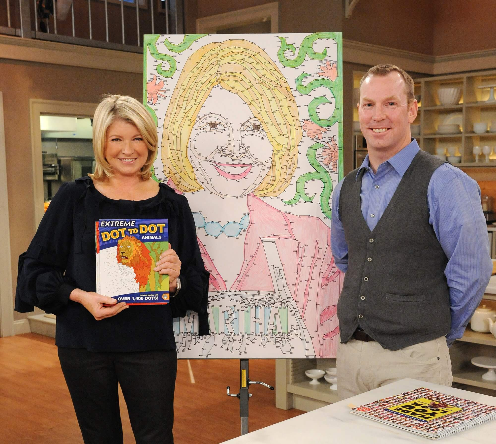 Extreme Dot to Dot :: Martha Stewart Show