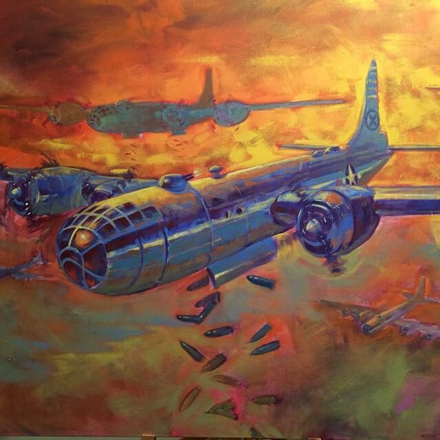 B29 Bomb Run