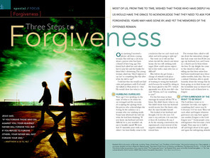 Decision Magazine :: Forgiveness