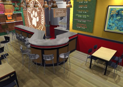 Lupine Tap Room Design