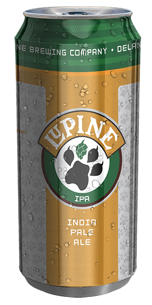 Lupine IPA can design