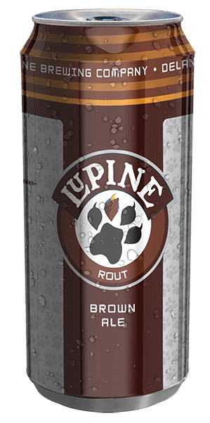 Rout Brown Ale can design